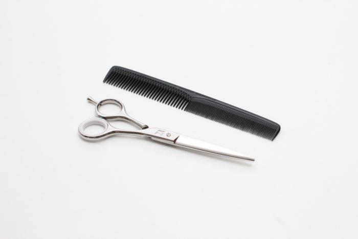 前髪カット 道具