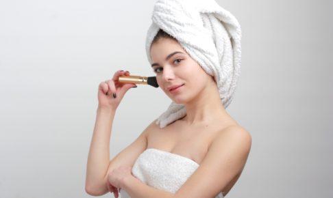 美容室に行く前に髪を洗う