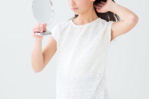 美容室で最後に鏡を見せてくれなかった
